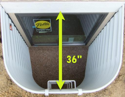 Egress Window Building Code Regulations
