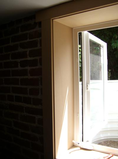 Open Egress Window