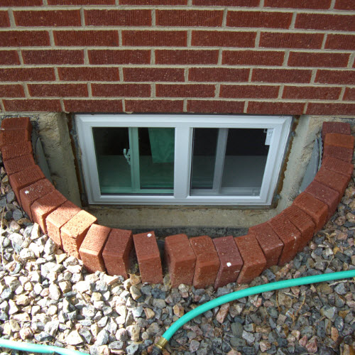 Small Basement Replacement Windows in Denver,  CO